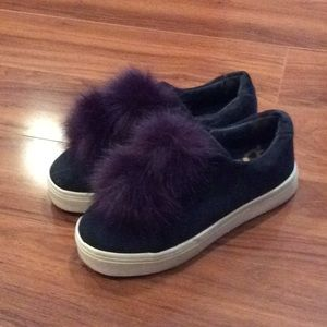 Sam Edelman navy sneakers
